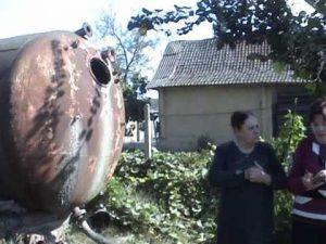 Прогулка по селу (частное видео, октябрь 2007 г.)